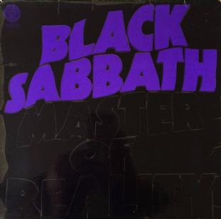 Black Sabbath ‎- Master Of Reality (LP) (G/G+)